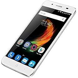 ZTE Blade A610Plus Smartphone débloqué 4G (écran 5.5 pouces - 32Go - Android) Gris clair