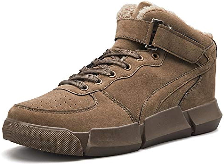 Le calzature sportive Feifei Scarpe da Uomo Slip Warm Scarpe Invernali per Sport e Tempo Libero all'Aria Aperta... | Funzionalità eccellenti  | Scolaro/Signora Scarpa