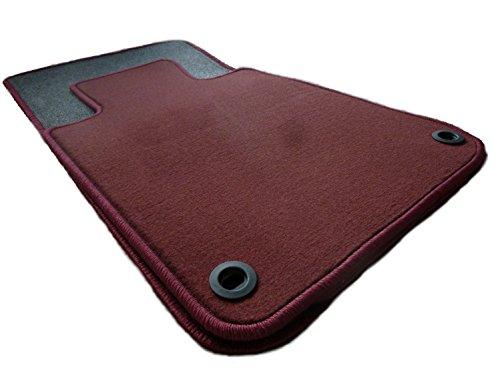 Preisvergleich Produktbild Original Thomatex Fußmatten Velours weinrot