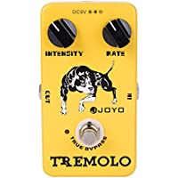 JOYO Tremolo JF-09 Gitarre Effektpedal, 2 in 1 True Bypass E-Gitarre Effektpedal für Heavy Metal Musik