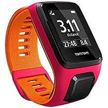 Tomtom Runner 3 - Montre de Sport GPS - Bracelet Fin - Fushia/Orange