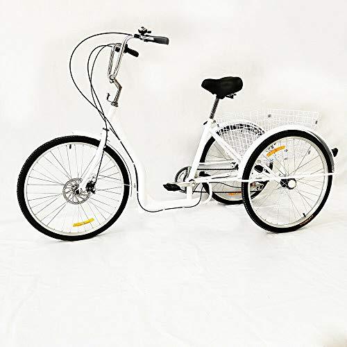 OUKANING Dreirad für Erwachsene 6 Speed 26