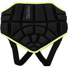 3D Protección Almohadilla de Cadera Ajustable para Niños Cojin de Proteccion Extremo de Cadera para Patinar Esquí Patineta Snowboard
