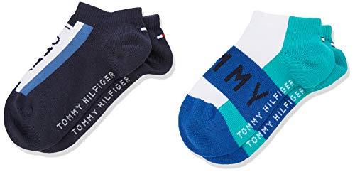 0aacd515fd3c5 Tommy Hilfiger Boy s Th Kids Tommy Sneaker 2p Ankle Socks