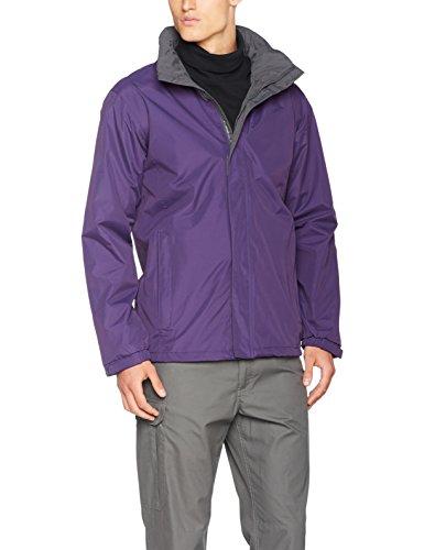 Regatta Herren Jacke Ardmore Jacket, Purple (Majestic Purple/Seal Grey), S