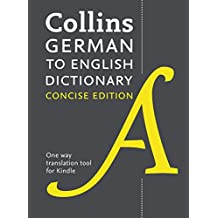 Collins Concise German-English Dictionary (German Edition)