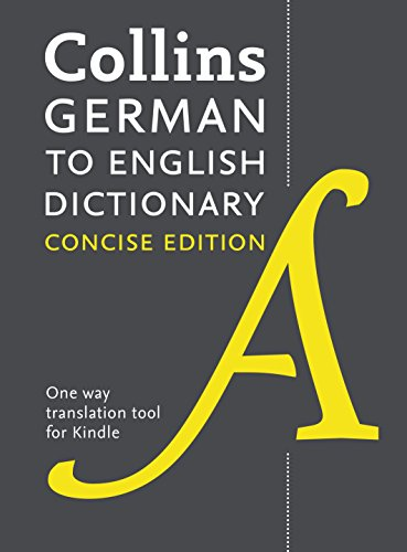 Collins Concise German-English Dictionary