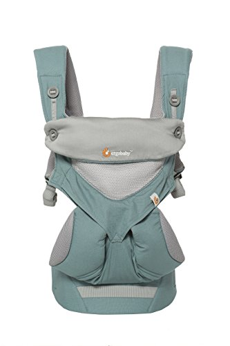 ERGObaby Babytrage 360 - Cool Air Icy Mint, grün