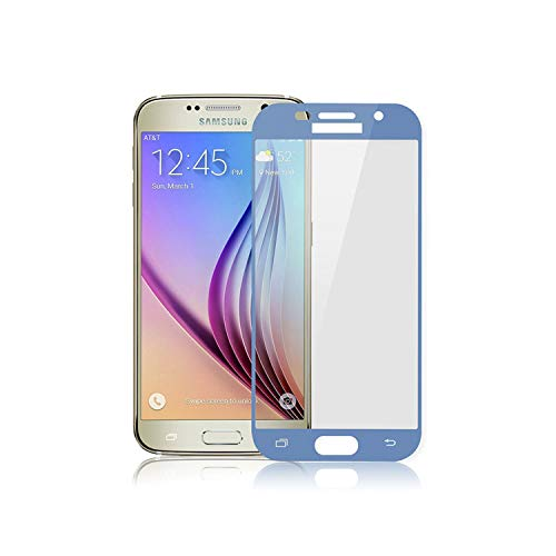 Vikimen Ausgeglichenes Glas-Film, Schirm-Schutz,9H Full Cover Screen Protector for Galaxy A5 A7 A5 A3 Tempered Glass for A5 A520F A320F A720F Blue for A5 2017 A520F