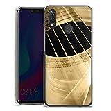 DeinDesign Huawei P Smart Plus Hülle Case Handyhülle Gitarre Instrument Saiten