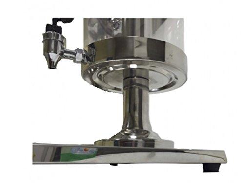 Beckers professional juice dispenser with refrigerant column JVS