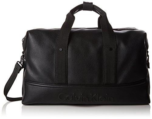 Calvin Klein Jeans Herren Speed Weekender Umhängetaschen, Schwarz (Black 001), 62x28x19 cm