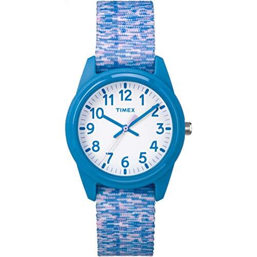 Timex Unisex Kinder Analog Quarz Uhr mit Nylon Armband TW7C12100 (Uhren Timex Kinder)