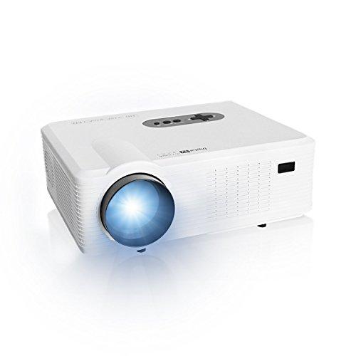 3d-stereo-imaging (NUOVO Videoproiettore Proiettore 3000 Lumen, HD 1280 x 800 1080P, HDMI, VGA/USB/Digital AV/TV 50000 ORE Altoparlanti Stereo Doppia Supporta effetto 3D Displayschutzfolie, Weiß)