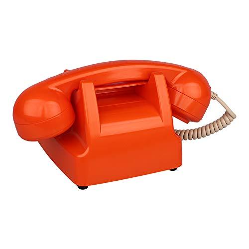 TeléFono TeléFono Antiguo Americano Resina TeléFono De La Oficina En El Hogar TeléFono Fijo TeléFono De La Sala De Estar Muebles para El TeléFono TeléFono Fijo con Cable: Dial