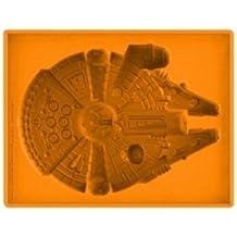 imágenes de las estrellas de Star Wars Deluxe Millenium Falcon Dx Bandeja de Silicona Reducción - Bandeja hielos silicona Halcón Milenario