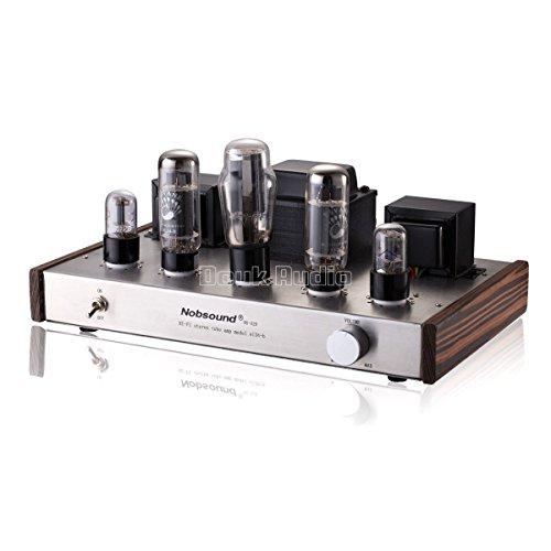 Nobsound Douk Audio HiFi EL34 Valve Tube Amplifier Classic 2.0 Channel Stereo Single-Ended Class A Röhrenverstärker Power Verstärker 12Wx2