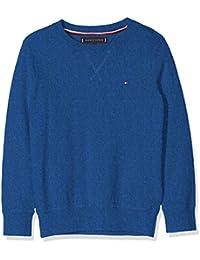Tommy Hilfiger Jungen Pullover Essential CTN/Cashmere Sweater