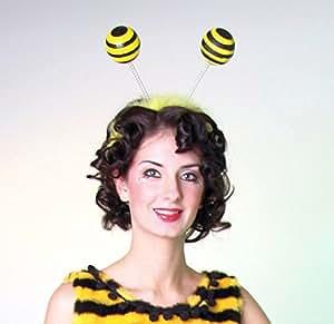 Serre-tête abeille antennes diadème Antennes d'abeilles Maya bandeau insecte
