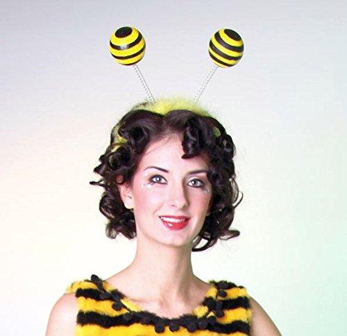 Bienenfühler Kopfbügel Biene Maja Fühler Bienen Fühler Haarreifen Bienen Haarreif Insekten Kostümzubehör
