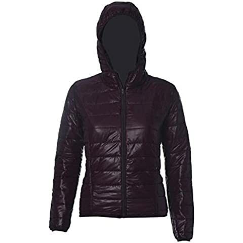 donne cappotto, FEITONG caldo caramelle colore sottile sottile Piumino