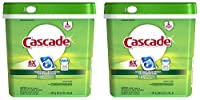 Cascade Fresh Scent Dishwashing Detergent Action Pacs 105 Count 2 Pack