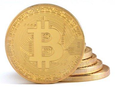 1x Physische Bitcoin Münze mit 24-Karat Echt-Gold überzogen | Wahres Sammlerstück mit Schutzhülle | GRATIS E-Book: Die Geschichte von Bitcoin -