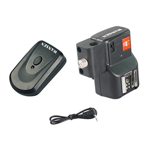 MagiDeal 4 Kanal Drahtlose Fernbedienung Blitz Kontroller Auslöser mit Empfänger für DSLR Kameras