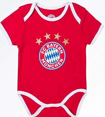 Bayern München kompatibel Baby Body + Sticker München Forever, Babybody (62/68)
