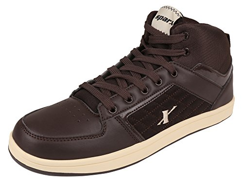 Sparx Men's Brown Colour Sm250 Series Synthetic Casual Shoes