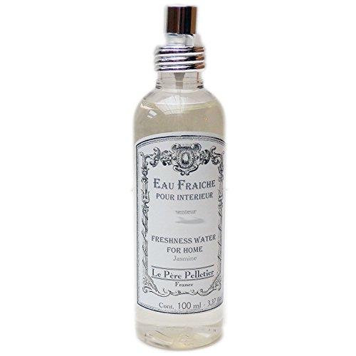 Le Père Pelletier LPP : Vaporisateur de Linge Eau Fraîche 100 ml - Parfum d'Ambiance pour Maison Intérieur (Jasmin)