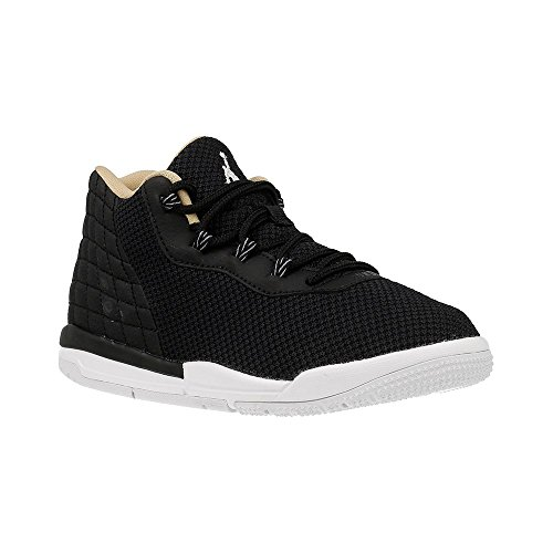 Nike Jordan Academy Bp, espadrilles de basket-ball garçon Noir (Noir / Blanc-Cool Grey-Vachetta Tan)