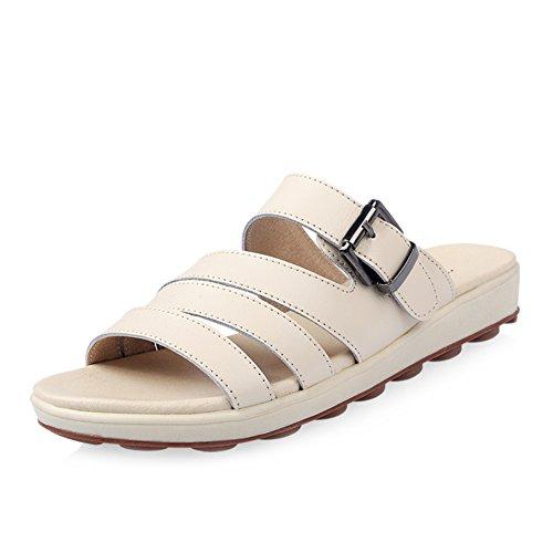 Fille de pantoufles plat/summer confort sandales/chaussures de femme enceinte/Casual extérieure sandales fashion feuillet étudiants B
