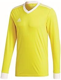 huge selection of 2c98f 7d087 adidas Tabela 18 JSY L Camiseta, Hombre (Amarillo Blanco), XL