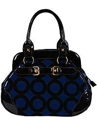 FASH Limited© Chic Mod Cercle Bowler style docteur sac à main , One Size