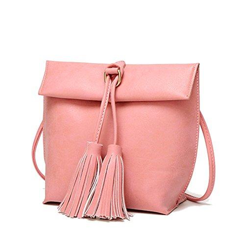 cchuang-new-leisure-solid-color-fringed-shoulder-packetpinkc