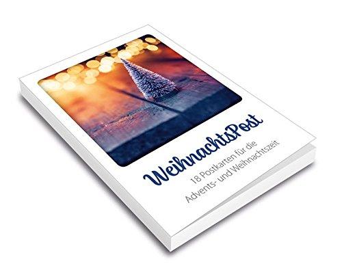 WeihnachtsPost - Postkartenset: 18 Postkarten für die Advents- und Weihnachtszeit.