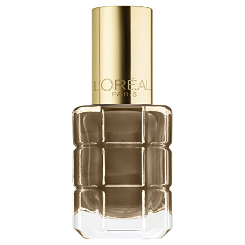 L\'Oréal Paris Color Riche Le Vernis Nagellack mit Öl in Gold / Pflegender Farblack in Braungold mit Glanz-Effekt /# 662 Moka Chic / 1 x 14ml