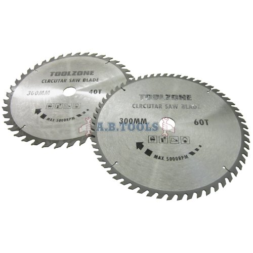 2pc-300mm-x-30mm-tct-circular-saw-blades-40-and-60-teeth-with-adapter-ring-te517