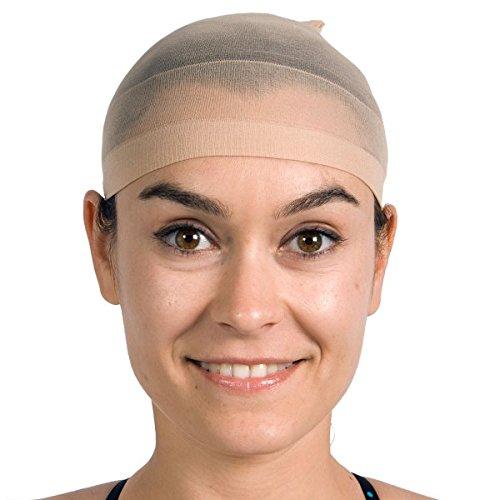 Folat 00547 Haarnetz für Perücken - 2 Stück, Mehrfarbig