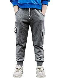 Ragazzi Pantaloni it Cargo E Amazon Abbigliamento Bambini 7XqAgW5