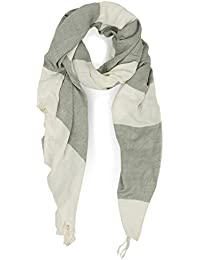 Great Plains - Large Stripe Scarf, Marble