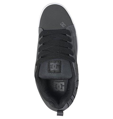 DC Shoes Court Graffik Se, Baskets Basses Homme Gris (Grey/Black)