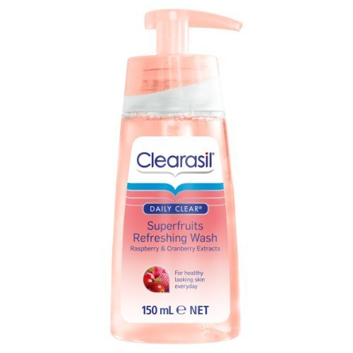 clearasil-daily-clear-superfruits-refreshing-wash-150-ml-by-reckitt-benckiser-english-manual