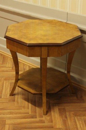 Table baroque antique table d'appoint de style Louis XV AlTa0009 Alaska