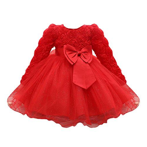 726110e30 Vestido Bebé Niñas, ❤️ Modaworld Vestidos de Fiesta de Boda de ...