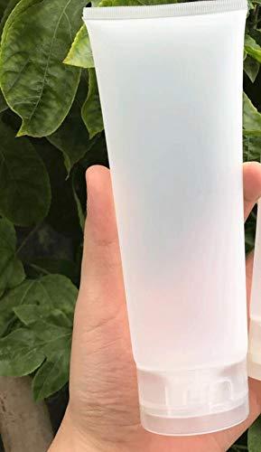 Bouteille de voyage transparente 200 ml pour la beauté des yeux, bouteille de lotion (Blanc)