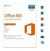 Microsoft Office 365 Home - 5PCs/MACs - 1 Jahresabonnement - multilingual (Product Key)  [Download]  Von Microsoft