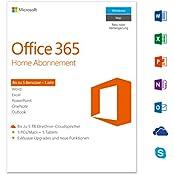 Microsoft Office 365 Home - 5PCs/MACs - 1 Jahresabonnement - multilingual (Product Key)  [Download]