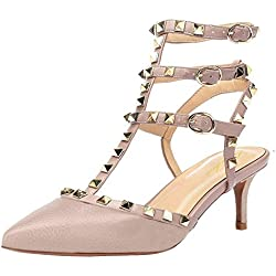 Lutalica - Zapatos de tacón de Sintético Mujer, Color, Talla 43 EU